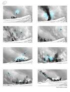 Unused storyboard Antartica 3