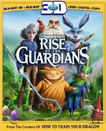 Rise of the Guardians (Three-Disc Combo)