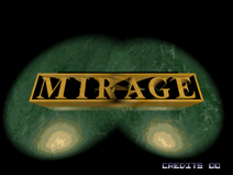 Rise of the Robots (arcade) mirage logo