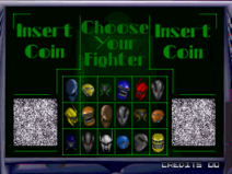 Rise of the Robots Character Select