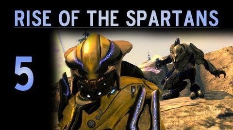 Rise of the Spartans Part 5 (Reach Machinima)