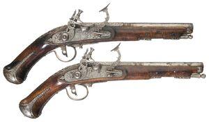 Dwarven Pistols