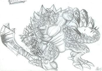 Lizardman Sketch