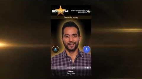 Rising Star -- How to Use the Voting App