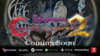 Bloodstained Curse of the Moon 2 - World Premiere Trailer