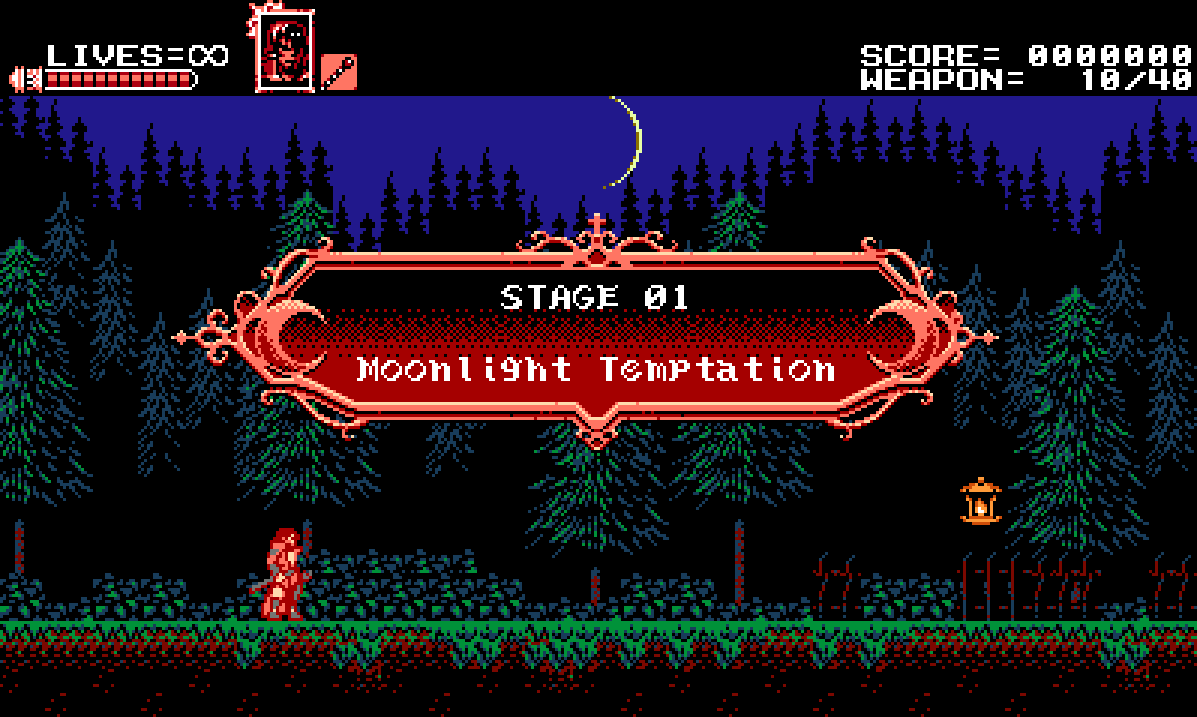 Curse Of The Moon Stage 1 Bloodstained Ritual Of The Night Wiki
