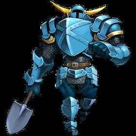 Bloodstained Shovel Armor
