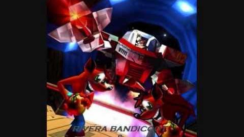 Diggah Tunnel Rivera Bandicoot & Crash Bandicoot