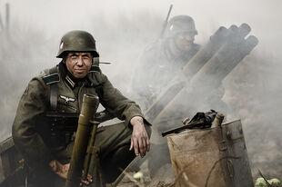 War portrait by Mo6