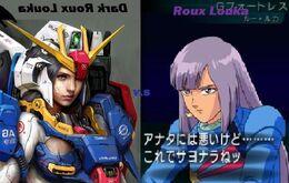Dark Roux Louka and Roux Louka fight for Harrison's love.