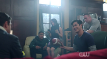 Season 1 Episode 2 A Touch of Evil Reggie talking to Moose