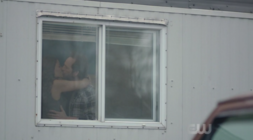 Hermione and Fred kissing