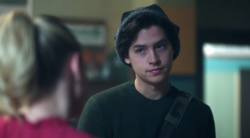 Season 1 Episode 3 Jughead joining the Blue and Gold