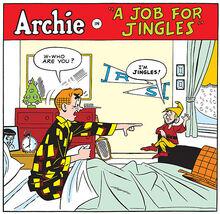 Jingles in comics