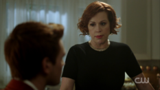 Season 1 Episode 11 To Riverdale and Back Again Mary asking Archie to live with her