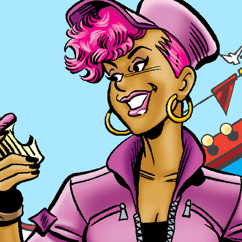 Toni Topaz dans les comics