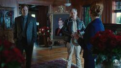 Season 1 Episode 5 Heart of Darkness Sheriff Keller, Penelope Blossom, and Cliffor Blossom