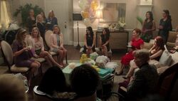 Season 1 Episode 8 The Outsiders Baby Shower (2)