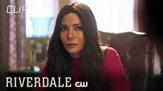 Riverdale Hiram & Hermione Discuss What's Best For The Family Season 3 Episode 10 Scene The CW