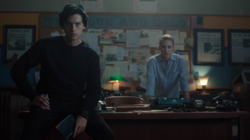 Season 1 Episode 3 Body Double Jughead and Betty at Blue and Gold