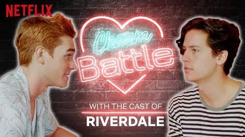 KJ Apa VS Cole Sprouse Charm Battle Riverdale Netflix
