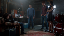 Season 1 Episode 12 Anatomy of a Murder Veronica, Archie and Kevin interrogate Joaquin