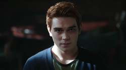 Season 1 Episode 3 Body Double Archie telling the cops the truth