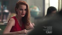 Season 1 Episode 3 Body Double Cheryl thanking Archie