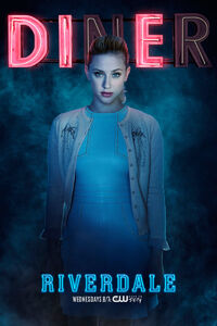 Season 2 'Diner' Betty Cooper Promotional Portrait