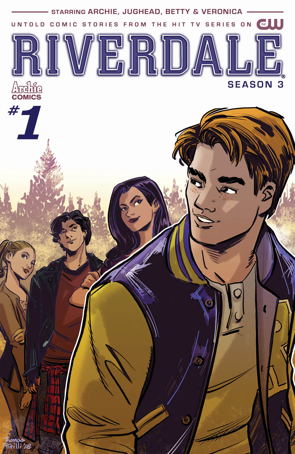 Image result for riverdale season 3 issue 1