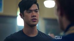 Season 1 Episode 2 A Touch of Evil Reggie vs Archie