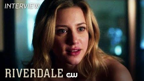 Riverdale Lili Reinhart & Cole Sprouse Interview The Serpent Queen The CW