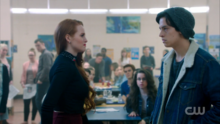 Season 1 Episode 12 Anatomy of a Murder Jughead vs Cheryl