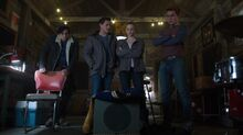 Season 1 Episode 12 Anatomy Of A Murder Jughead-Kevin-Betty-Archie