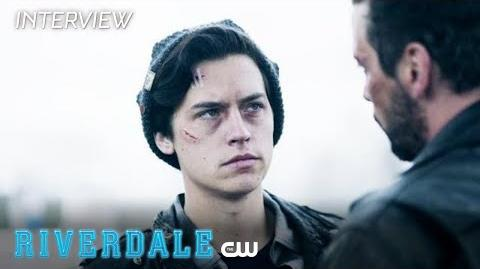 Riverdale Cole Sprouse Interview Season 2 - Jughead's Sacrifice The CW