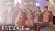 Riverdale Behind the Scenes of the Promposal with Drew Ray Tanner + Zoé De Grand Maison The CW