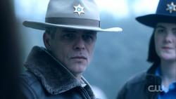 Season 1 Episode 12 Anatomy of a Murder Sheriff Keller at crime scene