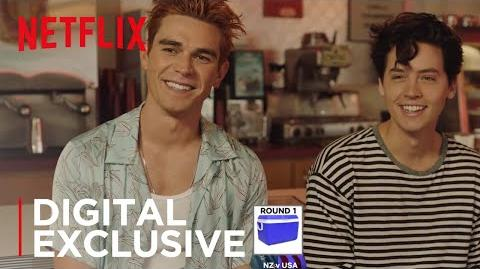 Riverdale NZ vs US Slang with KJ and Cole Netflix