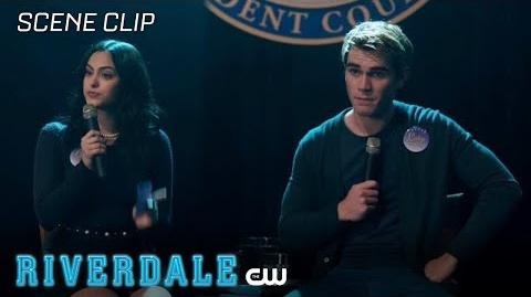 Riverdale Season 2 Ep 17 The Student Body President Panel The CW