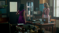 Season 1 Episode 11 To Riverdale And Back Again Alice and Veronica