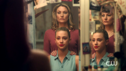 Season 1 Episode 3 Body Double Alice standing over Betty