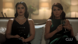 Season 1 Episode 11 To Riverdale and Back Again Hermione and Veronica together