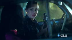 Season 1 Episode 4 The Last Picture Show Betty finds a gun