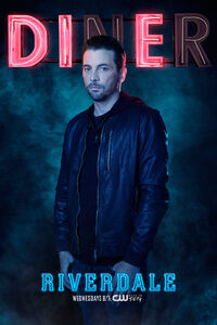 Season 2 'Diner' FP Jones Promotional Portrait