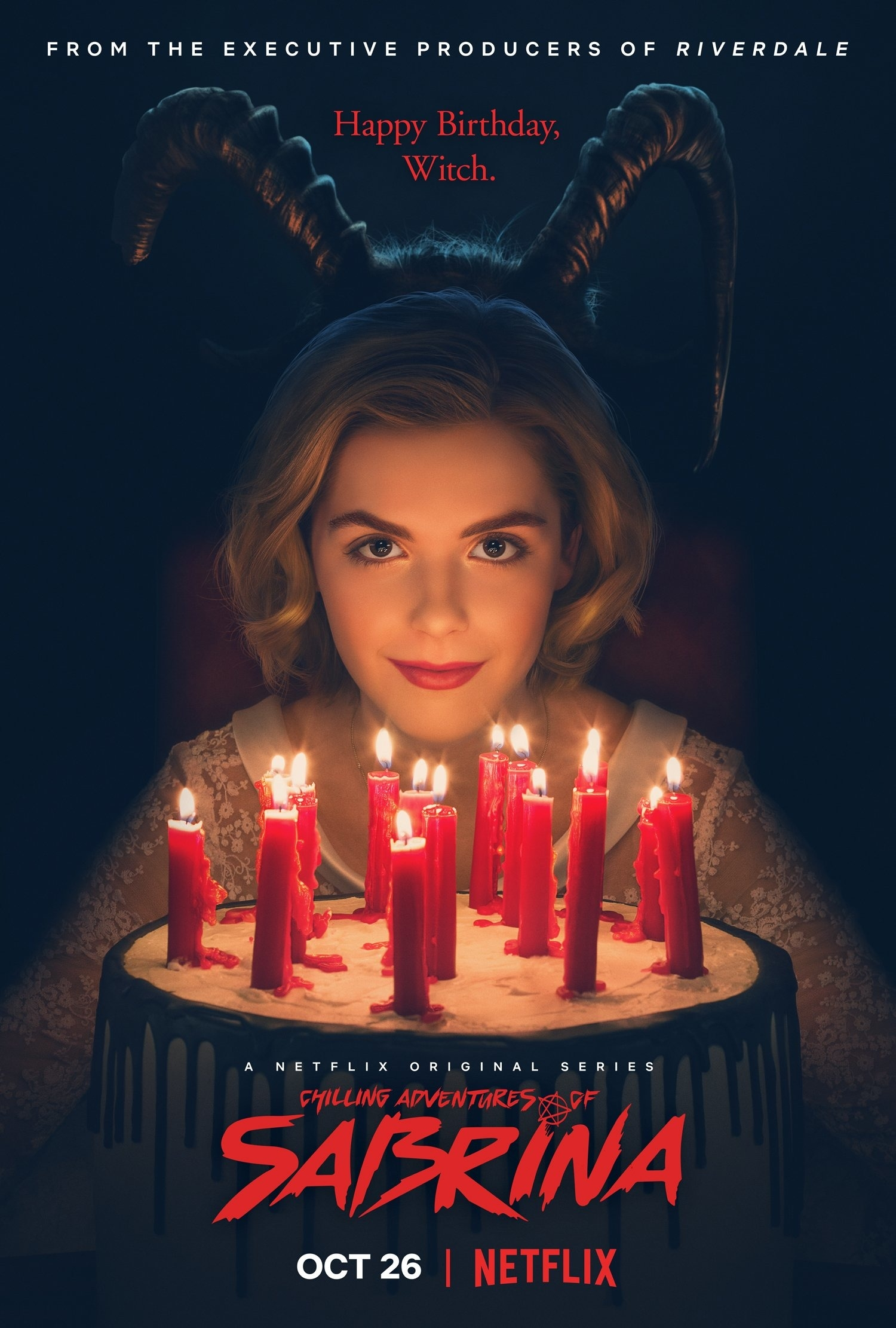 Image result for chilling adventures sabrina poster tumblr