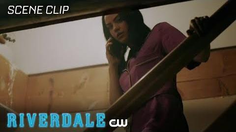 Riverdale Season 2 Ep 7 Betty Convinces Veronica to Check the Basement The CW