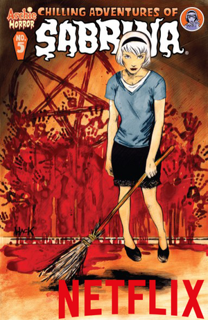 Chilling Adventures of Sabrina Netflix Tag