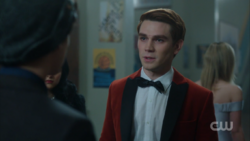 Season 1 Episode 11 To Riverdale and Back Again Archie admitting the truth