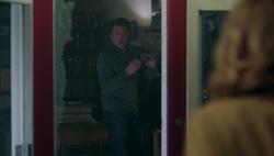 Season 1 Episode 9 La Grande Illusion Hal scared