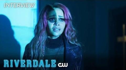 Riverdale Vanessa Morgan Interview Season 2 - Nuns On The Run The CW